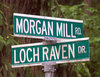 Intersection: Morgan Mill & Loch Raven